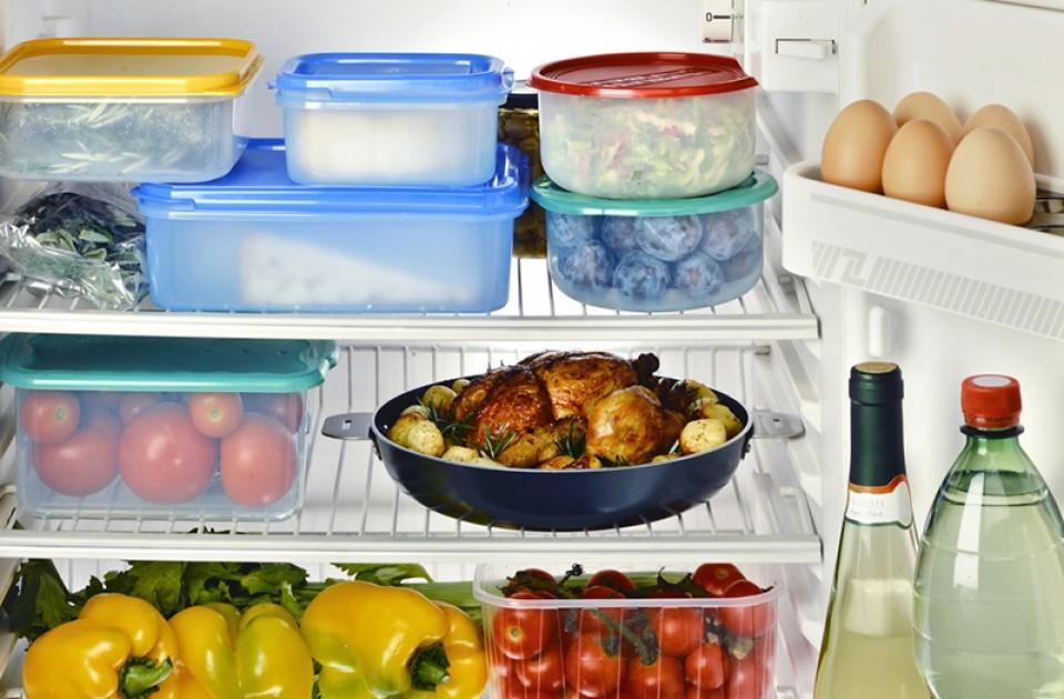 Image result for penyimpanan Makanan Sisa di kulkas