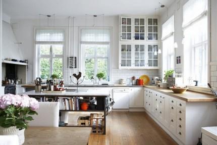 Dandani Dapur Mungil Dengan Gaya Scandinavian Yang Elok dan Ringan