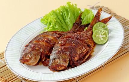 Ikan Bakar Bumbu Goreng